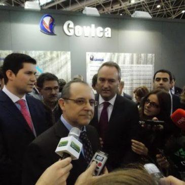Josep Albinyana, Director de CO2zero, entrevistado en Cevisama