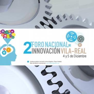 CO2zero en el II Foro de Innovación de Vila-real el 4 y 5 de diciembre