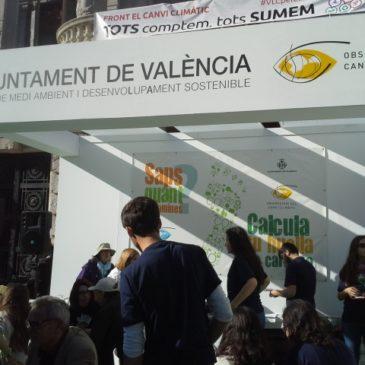 CO2zero participa en el evento del Ayuntamiento de Valencia «Front al canvi climàtic tots comptem tots sumem»