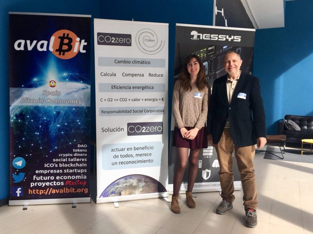 Solución CO2zero en el IOT Blockchainn Camp 2018 en Valencia
