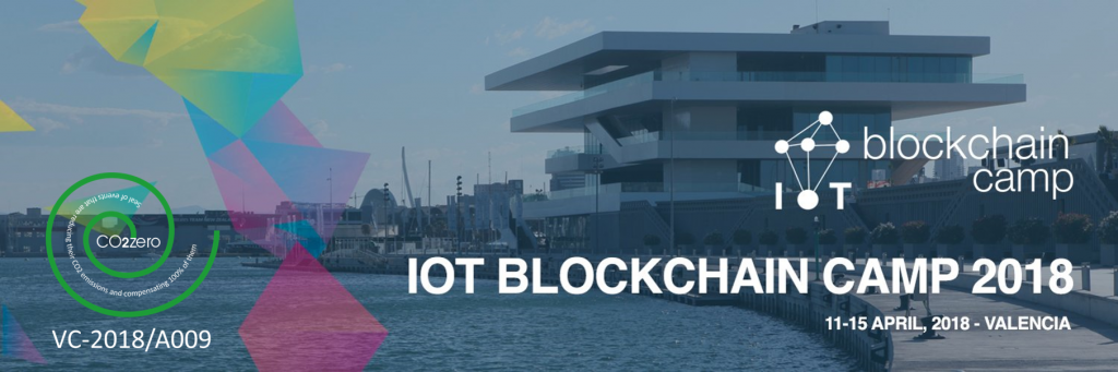 IOT Blockchain Camp Valencia evento CO2zero